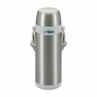 Термос классический Tiger MBI-A080 Clear Stainless White, 0.8 л